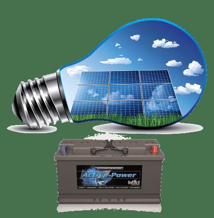 μπαταρίες φωτοβολταικών